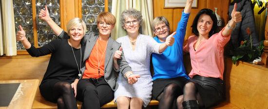 Frauengemeinschaft Haslen Stein Bezirk Schlatt Haslen