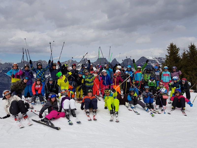 Klettergerüst Lagerhaus : Skilager in den flumserbergen bezirk schlatt haslen